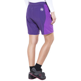 Endura Pulse Shorts Women Purple